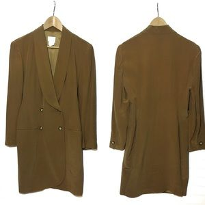 VTG MODA INT'L | 100% Silk Dress Blazer